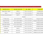 Plantilla partidos 12-13 diciembre